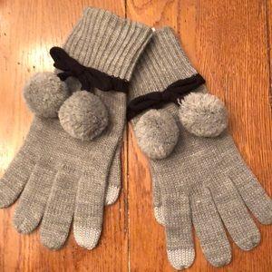 NWT - Kate Spade Pom Pom gloves